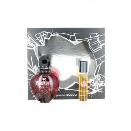 Комплект за жени Paco Rabanne Black Xs Woman - Тоалетна вода EDT 50 мл + 15 мл-Парфюми