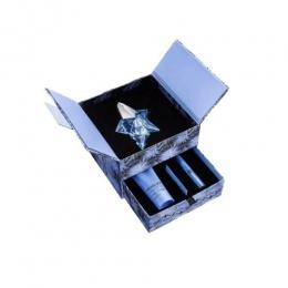 Комплект за жени Thierry Mugler Angel Refillable - Парфюмна вода EDP 50 мл + Perfuming Pen 3 гр + Лосион за тяло BL 100 мл-Парфюми