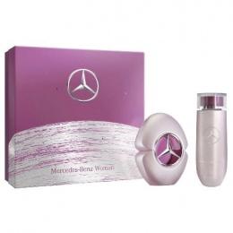 Комплект за жени Mercedes-Benz Woman - Парфюмна вода EDP 60 мл + Лосион за тяло BL 125 мл-Парфюми