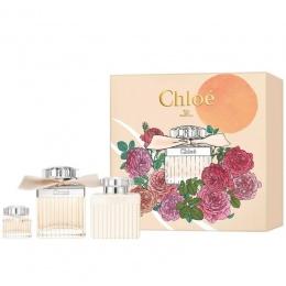 Комплект за жени Chloe Eau de Parfum - Парфюмна вода EDP 75 мл + 5 мл + Лосион за тяло BL 100 мл-Парфюми