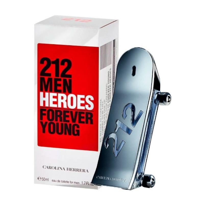 Carolina Herrera 212 Heroes - Тоалетна вода за мъже EDT 50 мл-Парфюми