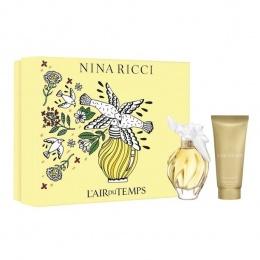 Комплект за жени Nina Ricci L`Air du Temps - Тоалетна вода EDT 100 мл + Лосион за тяло BL 100 мл-Парфюми