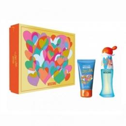 Комплект за жени Moschino I Love Love - Тоалетна вода EDT 30 мл + Лосион за тяло BL 50 мл-Парфюми