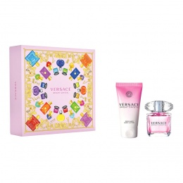 Комплект за жени Versace Bright Crystal -  Тоалетна вода EDT 30 мл + Лосион за тяло BL 50 мл-Парфюми