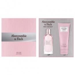 Комплект за жени Abercrombie&Fitch First Instinct - Парфюмна вода EDP 50 мл + Лосион за тяло BL 200 мл