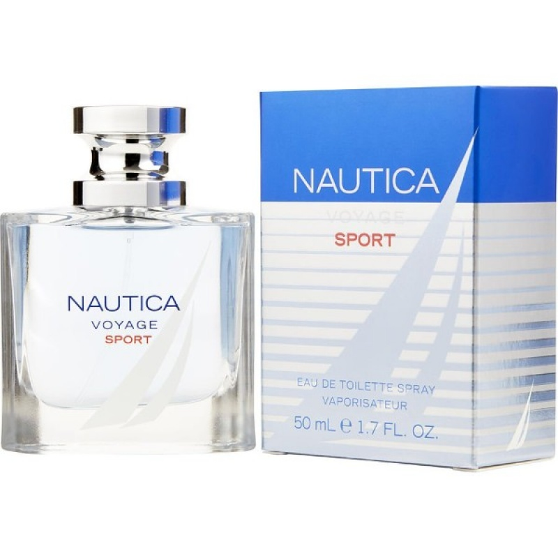 Nautica Voyage Sport - Тоалетна вода за мъже EDT 50 мл-Парфюми