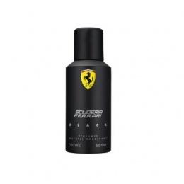 Ferrari Scuderia Black - Дезодорант за мъже DEO 150 мл-Парфюми