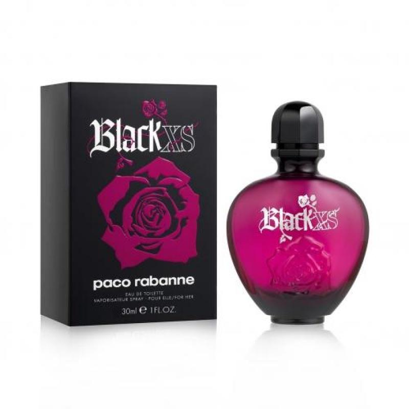 Paco Rabanne Black Xs Woman - Тоалетна вода за жени EDT 30 мл-Парфюми