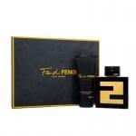 Комплект за мъже FENDI Fan di Fendi - Тоалетна вода EDT 100 мл + Душ гел SG 100 мл-Парфюми
