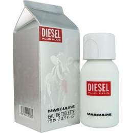 Diesel Plus Plus Masculine - Тоалетна вода за мъже EDT 75 мл-Парфюми