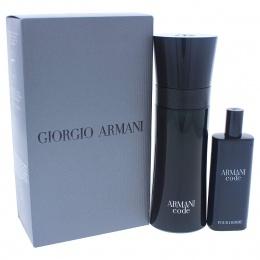 Giorgio Armani Armani Code - Комплект за мъже - Тоалетна вода EDT 75 мл +15 мл-Парфюми