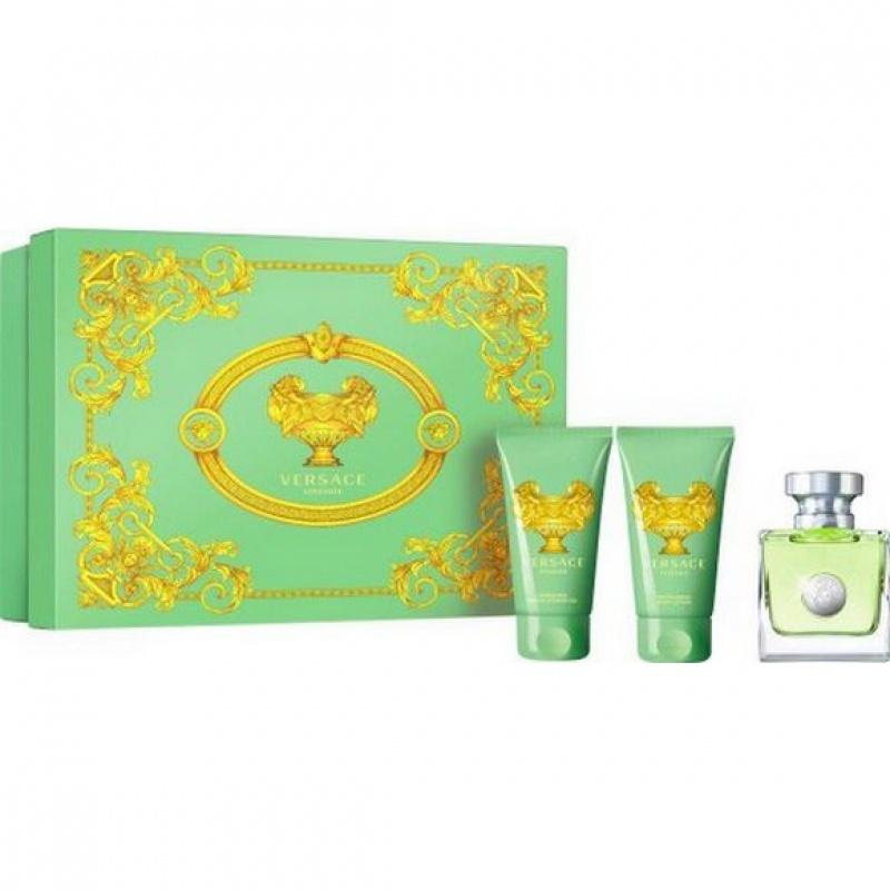Versace VERSENSE - Комплект заа жени - Тоалетна вода EDT 50 мл + Душ гел SG 50 мл + Боди лосион BL 50 мл -Парфюми