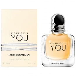 Armani Because It`s you - Парфюмна вода за жени EDP 50 мл-Парфюми