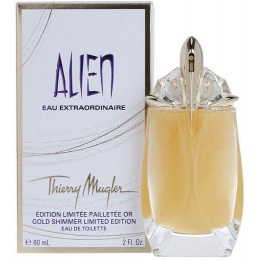 Thierry Mugler Alien Eau Extraordinaire Gold Shimmer - Тоалетна вода за жени EDT 60 мл-Парфюми