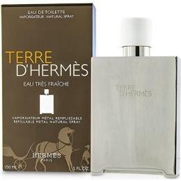 HERMES Terre d`Hermes Eau Tres Fraiche - Тоалетна вода за мъже EDT 150 мл, флакон с възможност за пълнене!-Парфюми