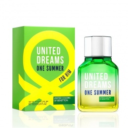 Benetton UCB United Dreams One Summer - Тоалетна вода за мъже EDT 100 мл-Парфюми