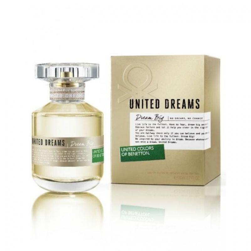 Benetton UCB United Dreams Dream Big - Тоалетна вода за жени EDT 80 мл-Парфюми