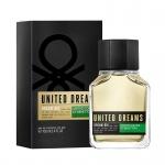 Benetton UCB United Dreams Dream Big - Тоалетна вода за мъже EDT 100 мл-Парфюми