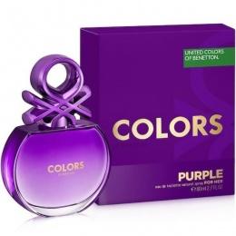 Benetton UCB Colors Purple - Тоалетна вода за жени EDT 80 мл-Парфюми