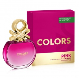Benetton UCB Colors Pink - Тоалетна вода за жени EDT 80 мл-Парфюми