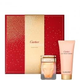 Комплект за жени Cartier La Panthere - Парфюмна вода EDP 50 мл + Лосион за тяло BL 100 мл-Парфюми