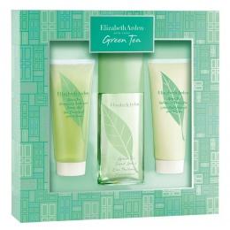 Комплект за жени Elizabeth Arden Green Tea - Парфюмна вода EDP 100 мл + Лосион за тяло BL 100 мл + Душ гел SG 100 мл-Парфюми