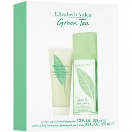 Комплект за жени Elizabeth Arden Green Tea - Парфюмна вода EDP 100 мл + Лосион за тяло BL 100 мл-Парфюми