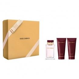 Комплект за жени Dolce&Gabbana Pour Femme - Парфюмна вода EDP 100 мл + Лосион за тяло BL 100 мл + Душ гел SG 100 мл-Парфюми