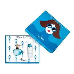 Комплект за жени Nina Ricci LUNA - Тоалетна вода EDT 50 мл + Лосион за тяло BL 75 мл-Парфюми