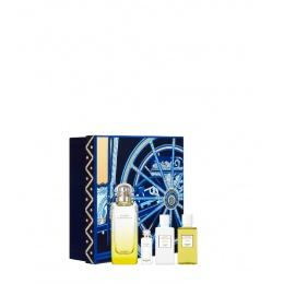 Комплект унисекс Hermеs Le Jardin de Monsieur Li - Тоалетна вода EDT 100 мл + Лосион за тяло BL 40 мл + Душ гел SG 40 мл + Mini EDT 7,5 мл-Парфюми