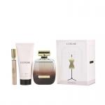 Комплект за жени Nina Ricci L`Extase - Парфюмна вода EDP 80 мл + Лосион за тяло BL 100 мл + Mini EDP 5 мл-Парфюми