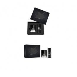 Комплект за мъже Paco Rabanne BLACK XS - Тоалетна вода за мъже EDT 100 мл + Дезодорант DEO 150 мл-Парфюми