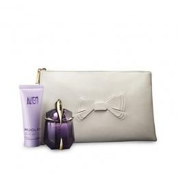 Комплект за жени Thierry Mugler ALIEN - Парфюмна вода EDP 30 мл + Лосион за тяло BL 50 мл + чантичка-Парфюми