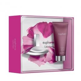 Комплект за жени Calvin Klein Euphoria - Парфюмна вода EDP 30 мл + Душ гел SG 100 мл-Парфюми