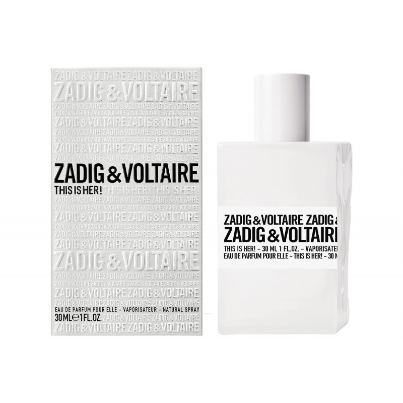 ZADIG & VOLTAIRE THIS IS HER - Парфюм за жени ЕДП 30 мл.-Парфюми