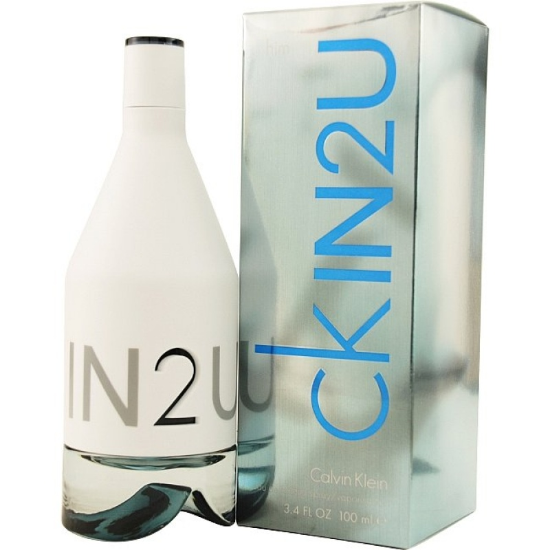 Calvin Klein IN2U - Тоалетна вода за мъже EDT 100 мл-Парфюми
