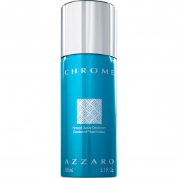 AZZARO Chrome - Део-спрей за мъже Deospray 150 мл.-Парфюми