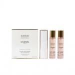Chanel COCO MADEMOISELLE - Комплект за жени - Парфюмна вода EDP 20 мл - 3 бр-Парфюми