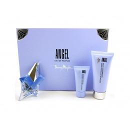 Thierry Mugler ANGEL - Комплект за жени - Парфюмна вода 25 мл + Лосион за тяло 100 мл + Душ гел 30 мл-Парфюми