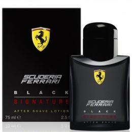 FERRARI BLACK SIGNATURE - Афтършейв лосион за мъже ASL 75 мл-Парфюми