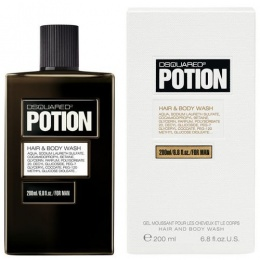 Dsquared 2 POTION FOR MAN - Душ гел за мъже SG 200 мл-Парфюми
