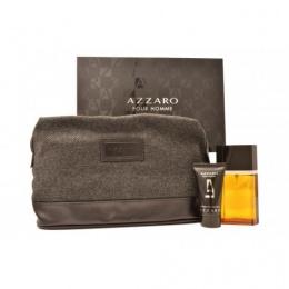 Azzaro pour homme - Комплект за мъже - Тоалетна вода EDT 50 мл + Афтършейв балсам ASB 30 мл + несесер-Парфюми