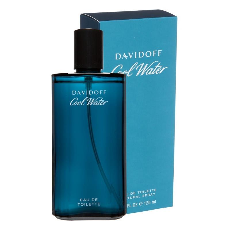 Davidoff Cool Water - Тоалетна вода за мъже EDT 125 мл-Парфюми