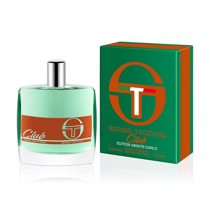 Sergio Tacchini Club Monte Carlo Edition - Тоалетна вода за мъже EDT 100 мл.-Парфюми