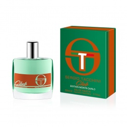 Sergio Tacchini Club Monte Carlo Edition - Тоалетна вода за мъже EDT 50 мл.-Парфюми