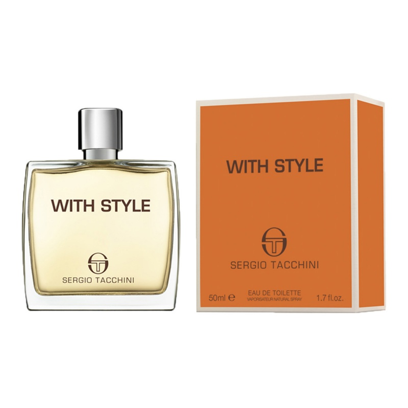 Sergio Tacchini St With Style - Тоалетна вода за мъже EDT 50 мл.-Парфюми