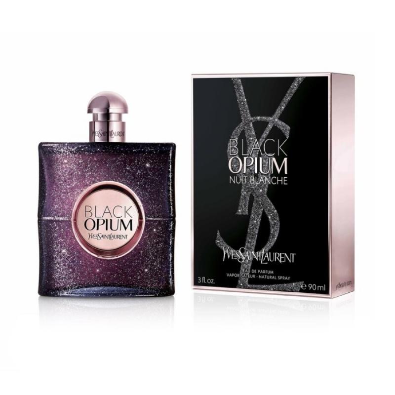 Yves Saint Laurent - Ysl Black Opium Nuit Blanche - Парфюм за жени ЕДП 90 мл.-Парфюми