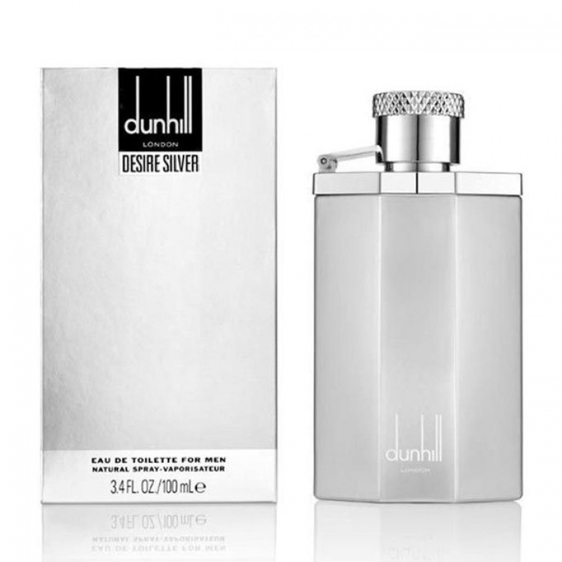 Dunhill Desire Silver - Тоалетна вода за мъже EDT 100 мл-Парфюми