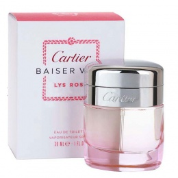 Cartier Baiser Vole Lys Rose - Тоалетна вода за жени EDT 30 мл-Парфюми