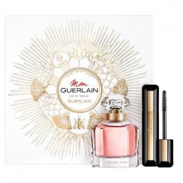 Guerlain Mon Guerlain - Комплект за жени с Парфюмна вода 50 мл. + Спирала за обем Guerlain Intense 8.5 мл-Парфюми